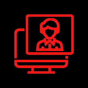 computer BI icon